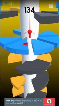 Helix spiral jump tower fall screenshot 2