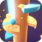 Helix Spiral - Jumping Ball 3D icon