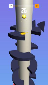 Helix Spiral - Jumping Ball 3D screenshot 5