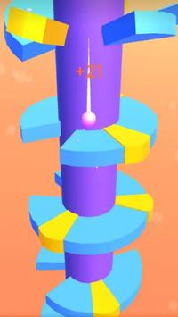 Helix Spiral - Jumping Ball 3D screenshot 1