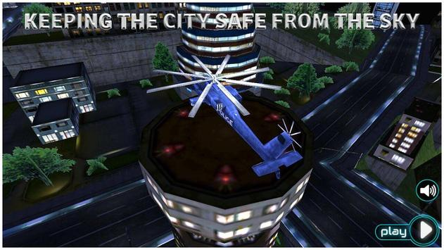 Police Helicopter Simulator 3D poster