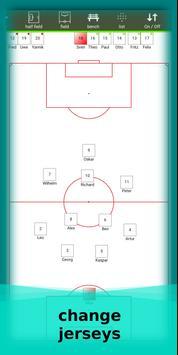 football lineup graphics program soccer - First 11 screenshot 14