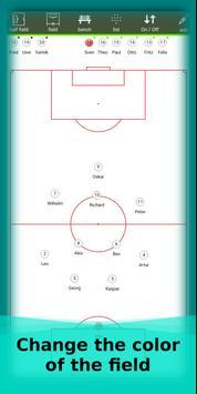 football lineup graphics program soccer - First 11 screenshot 13