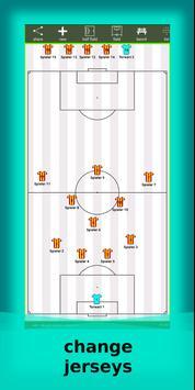 football lineup graphics program soccer - First 11 screenshot 1