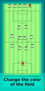 football lineup graphics program soccer - First 11 screenshot 2