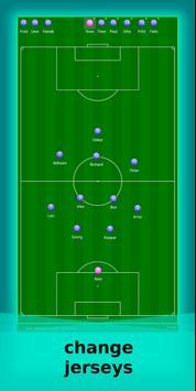 football lineup graphics program soccer - First 11 screenshot 3