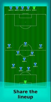 football lineup graphics program soccer - First 11 screenshot 5