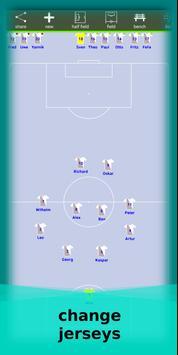 football lineup graphics program soccer - First 11 screenshot 9