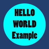 Hello World Examples icon