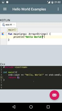 Hello World Examples screenshot 1
