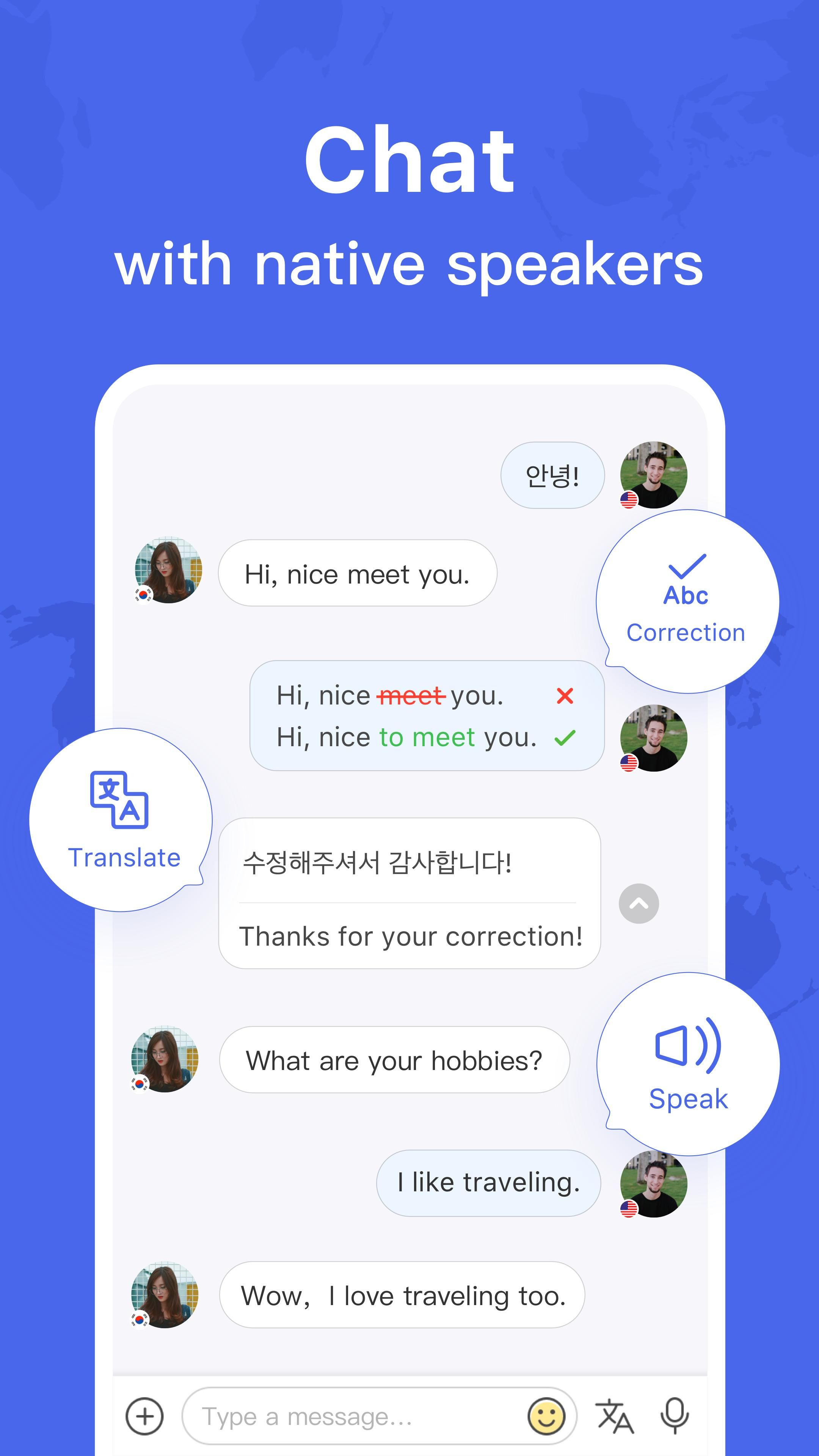 Image result for hellotalk screensho