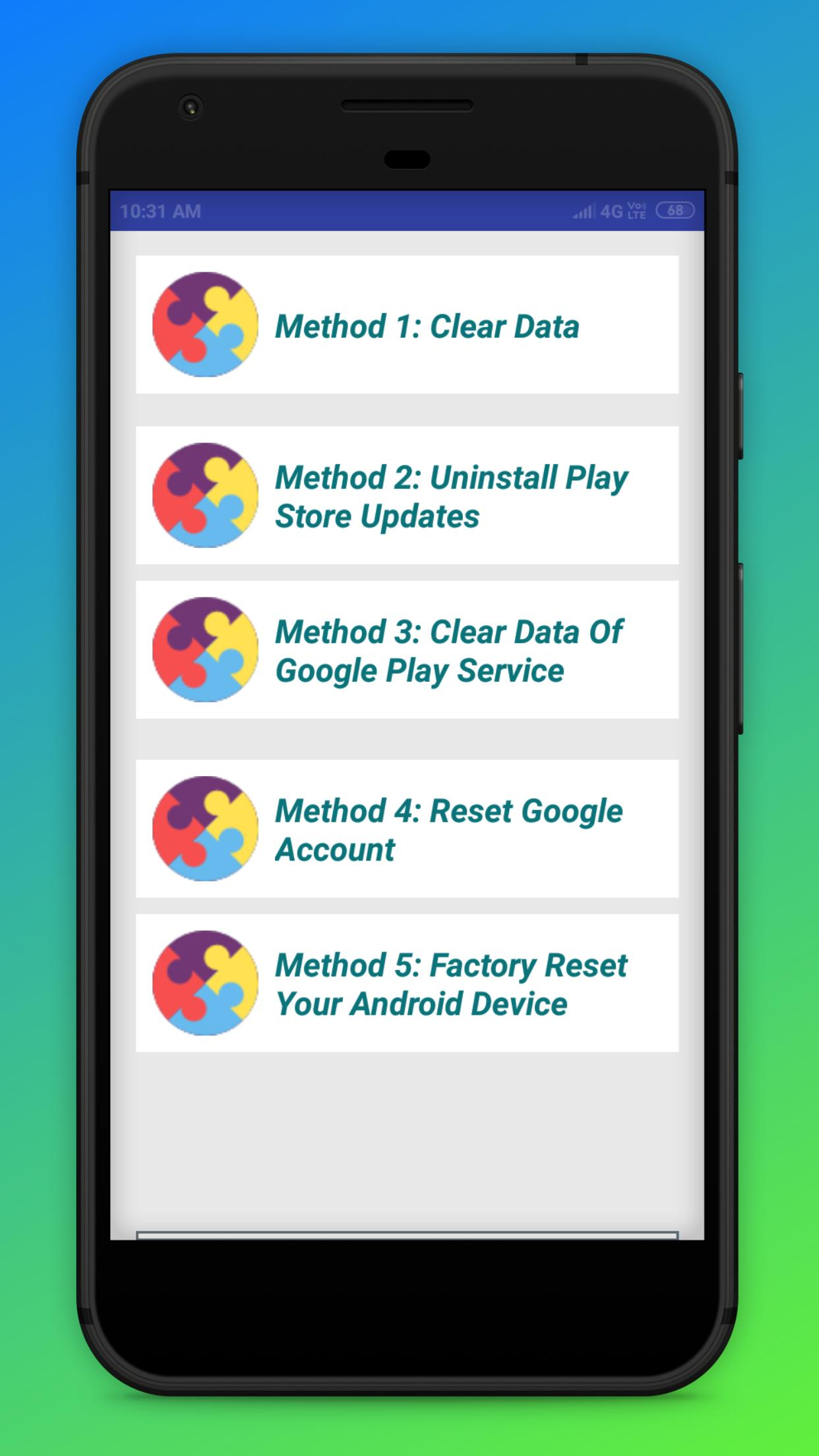 Download pending for playstore (solved) for Android - APK