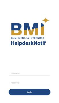 BMI Helpdesk Notif poster