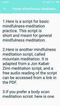 Mindfulness Meditation screenshot 5