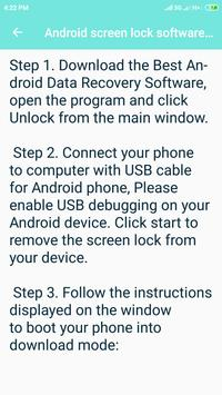 How to unlock an Android phone screenshot 2
