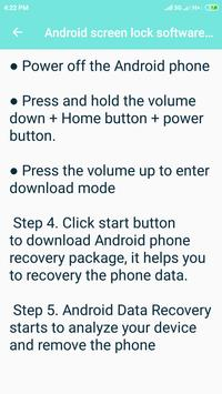How to unlock an Android phone screenshot 3