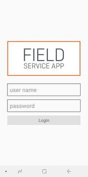Poster FieldService App