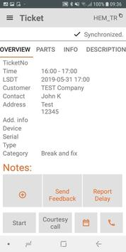 FieldService App screenshot 2