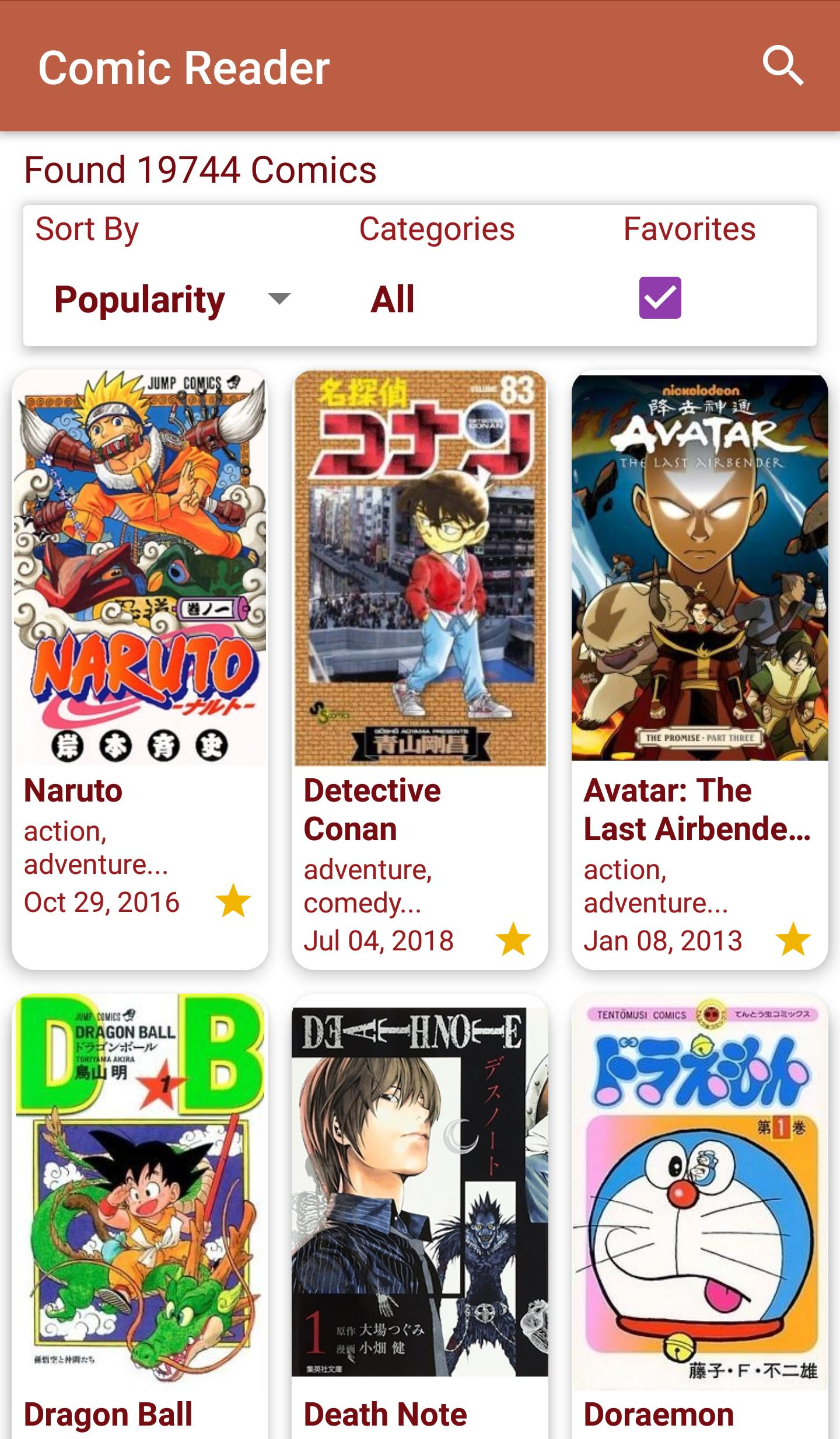 Comic Reader for Android - APK Download