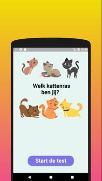 Welk kattenras ben jij? Test-poster