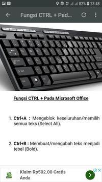 Fungsi Keyboard Komputer screenshot 3