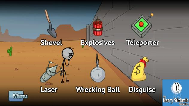 Henry stickmin completing the mission Guide screenshot 3