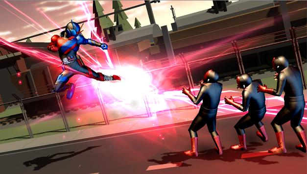 Rider build 3D : Climax Henshin Heroes Fighters screenshot 2