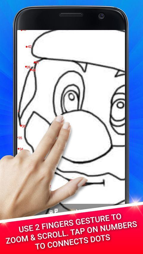 Dots Hero - Connect Dots Coloring Pages for Android - APK
