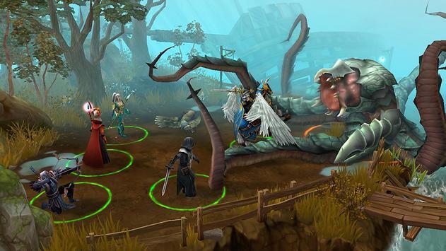 Strategy of Discord: Turn-Based isometric RPG game screenshot 1