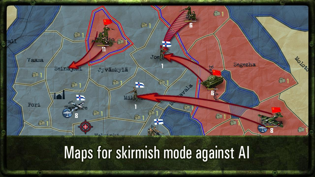 strategy and tactics world war 2 hacked apk