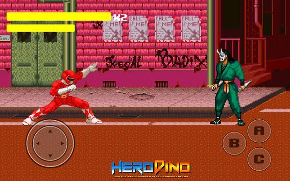 Hero Dino Bitwa Ninja Ranger Steel Samurai Retro plakat