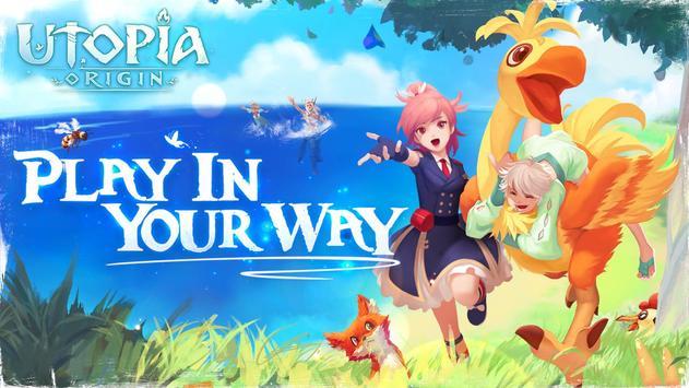 Utopia: Origin - Play in Your Way Cartaz