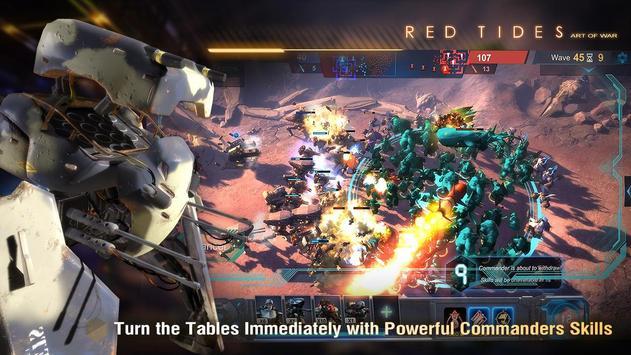 Art of War: Red Tides screenshot 3