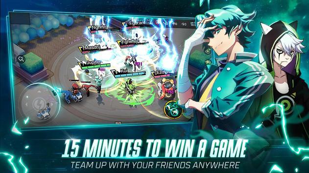 Extraordinary Ones: Anime-style 5V5 MOBA imagem de tela 1
