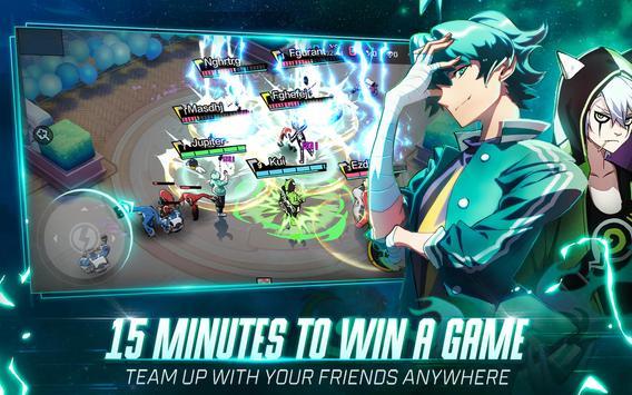 Extraordinary Ones: Anime-style 5V5 MOBA imagem de tela 8