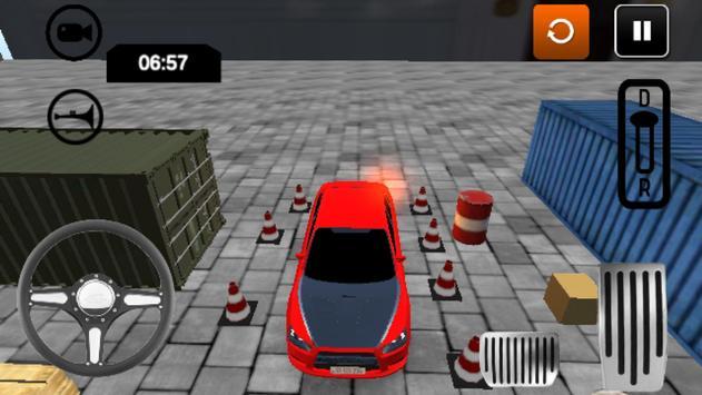 Безумная парковка 3D