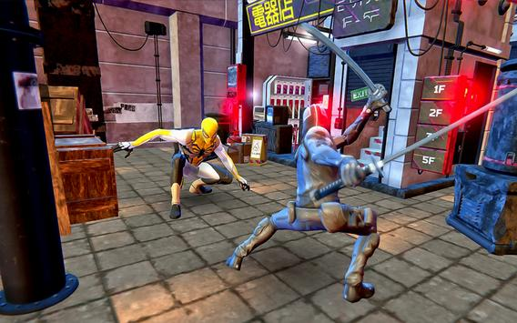 Pahlawan Spider Ninja Cyber Robot Pertempuran screenshot 3