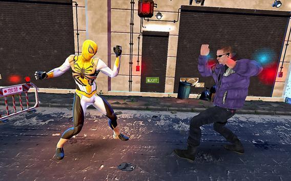 Pahlawan Spider Ninja Cyber Robot Pertempuran screenshot 4