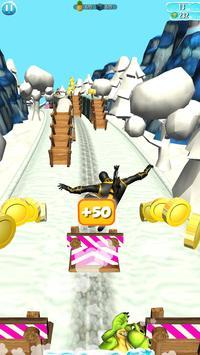 Subway Hero Ninja -Temple Surf screenshot 3