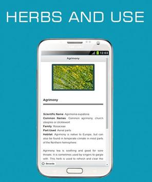 Herbs and Use OFFLINE poster