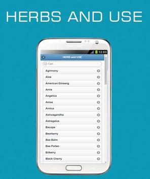 Herbs and Use OFFLINE screenshot 2