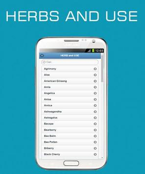 Herbs and Use OFFLINE screenshot 3
