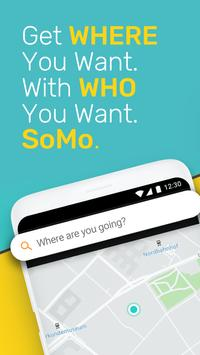 Somo - Plan Ride, Commute & Carpool with a Group poster