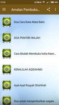 Amalan Pembuka Mata Batin screenshot 1