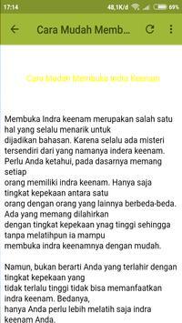 Amalan Pembuka Mata Batin screenshot 4