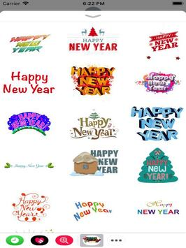 New year Stickers - WAstickers screenshot 1