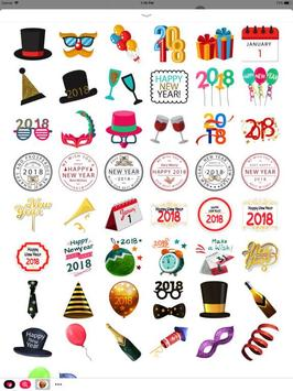 New year Stickers - WAstickers screenshot 2