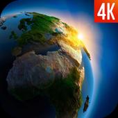 Earth Wallpaper 4K icon