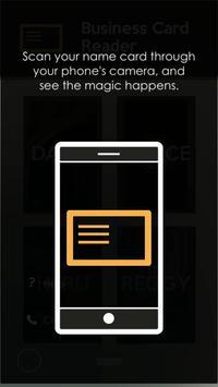 NAT - Business Card Reader screenshot 1