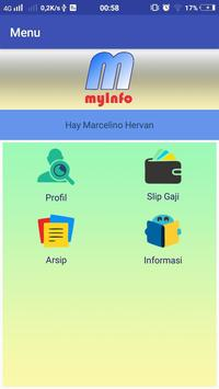 myInfo screenshot 1